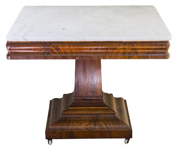 Henderson Kentucky Marble Top Parlor Table