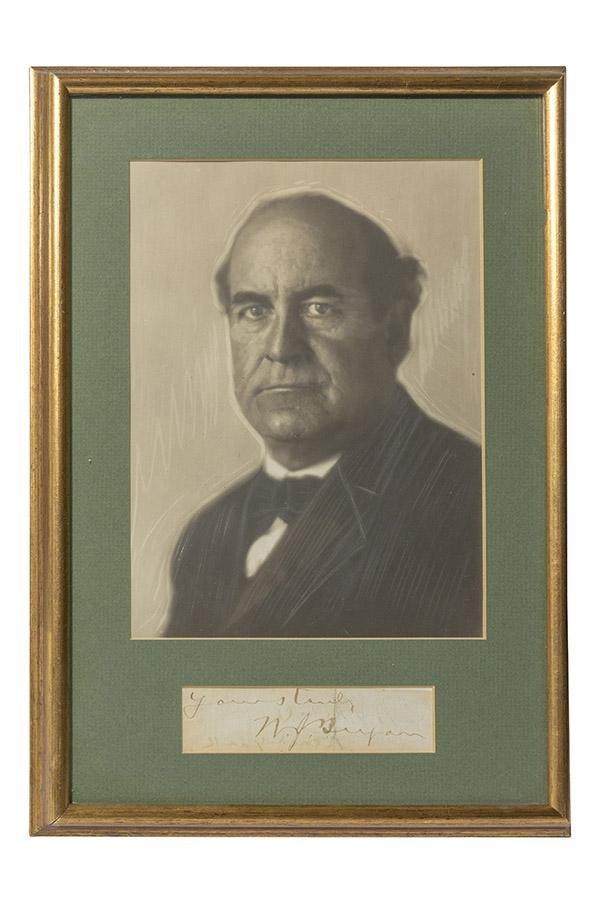 William Jennings Bryan   Signature