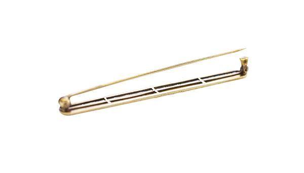 10k Gold Bar Pin
