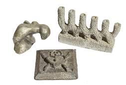 Metalic Graze Candelabra & Industrial Mold Plus