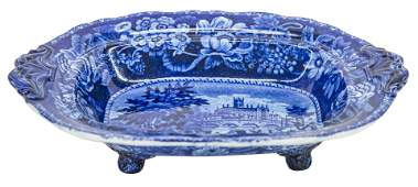 """Ralph Hall """"Worcester Cathedral"""" Footed Bowl"""