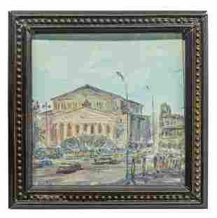 Miniature Russian Oil, Bolshoi Theater