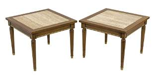 End tables, pair, Townsend manufactures Co., USA, 1960.