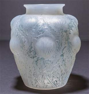 Rene Lalique Domremy Vase