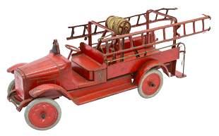 Pressed Steel Buddy L Ladder Fire Truck