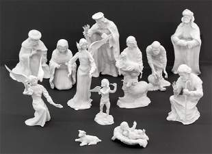 Boehm Porcelain Christmas Nativity Set