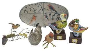 Assembled Bird Grouping