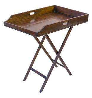English 19th Century Butlers Tray Table