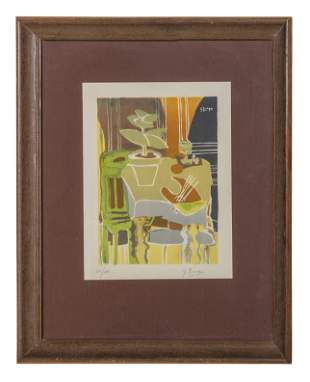 Georges Braque (1882-1963) Lithograph (France)
