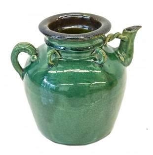 Chinese Stoneware Oil Jug