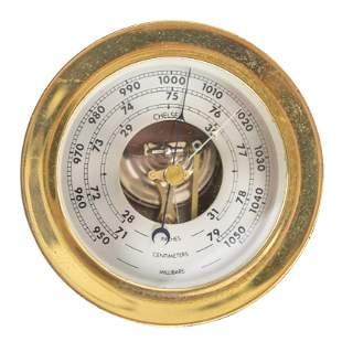 """4.75"""" Chelsea Ship Barometer"""