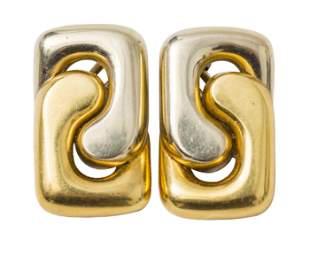 Cartier 18k Gold Earrings