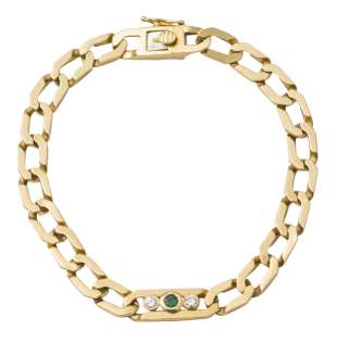 Cartier 18k Gold Link Bracelet