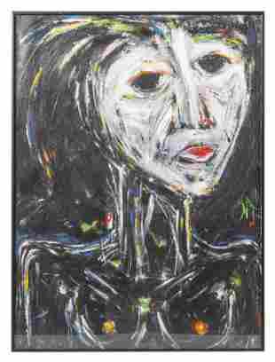 Benjamin (Ben) Butler (20th/21st) Acrylic (RI)