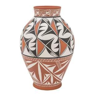 Navajo Pottery Vase, E. Whitegoat