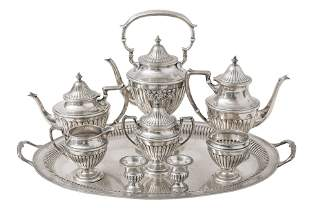 Outstanding Dunkirk Sterling Coffee & Tea Service