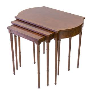 Baker Furniture Nesting Tables