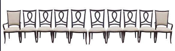 Paolo Buffa Style Dining Chairs