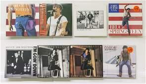 8 Bruce Springsteen Vinyl Records