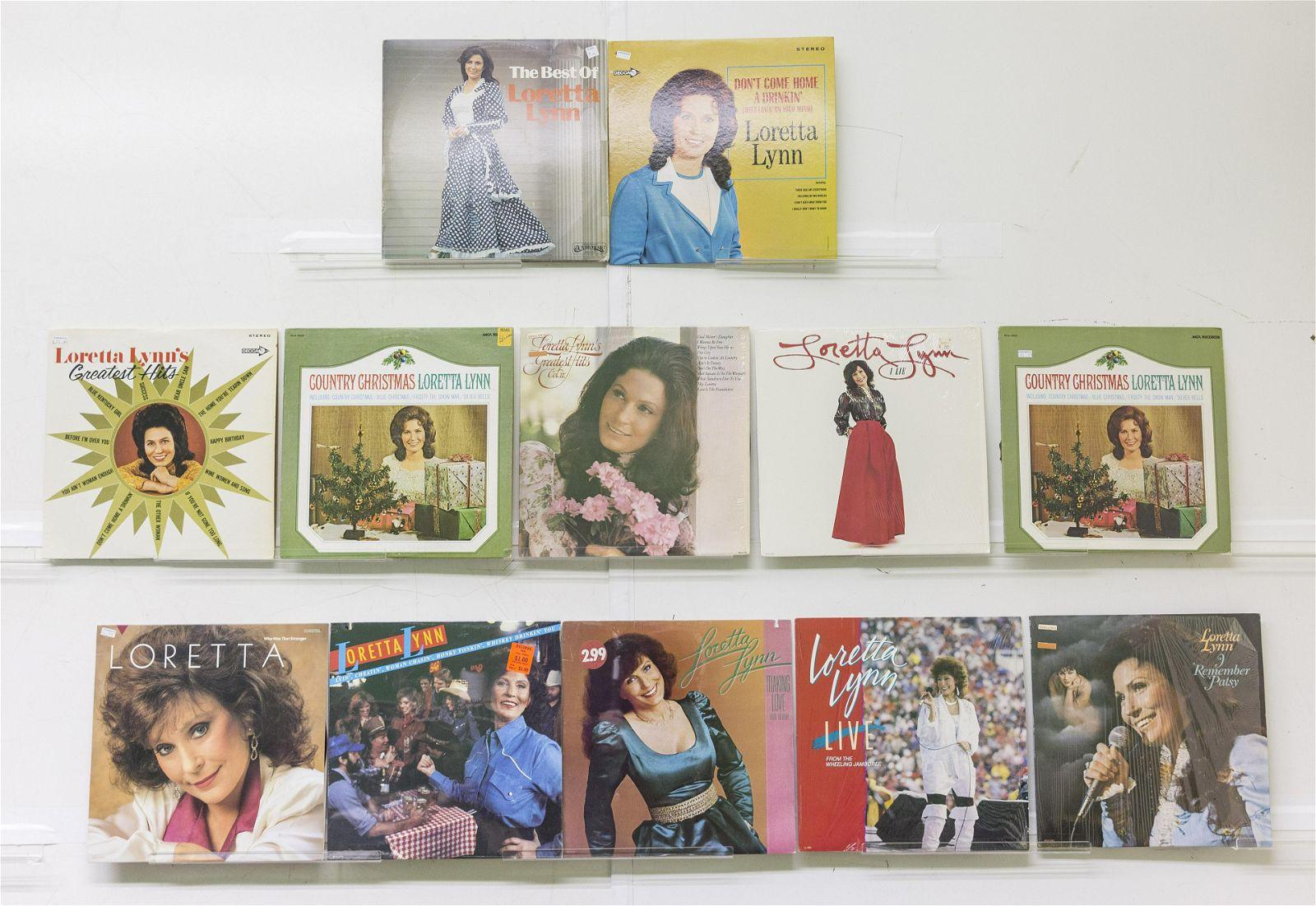 12 Loretta Lynn Vinyl Records