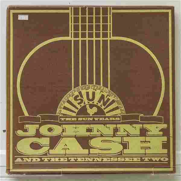 Johnny Cash 5 Record Box Set