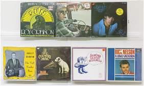 6 Assembled Vinyl Records 1 Box Set