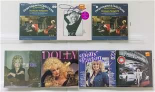 6 Dolly Parton Vinyl Records 1 Box Set