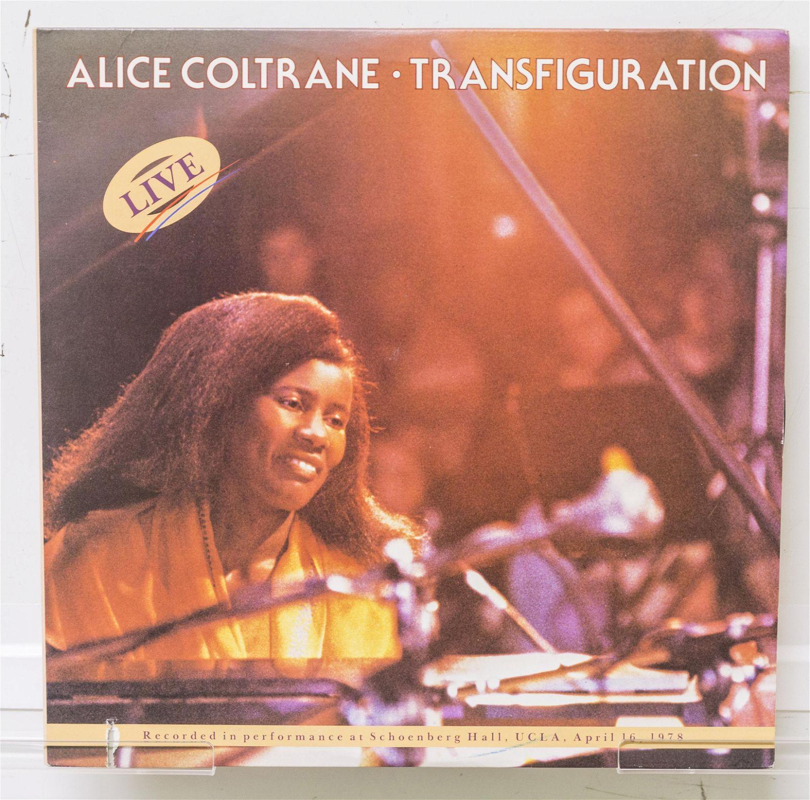 Alice Coltrane Vinyl Record