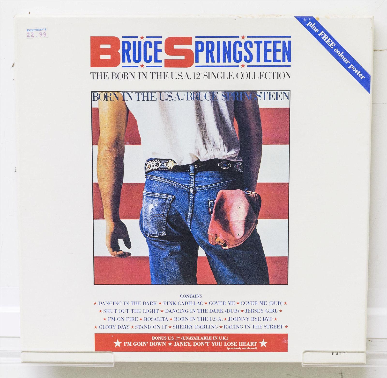 Bruce Springsteen 4 Record Box Set