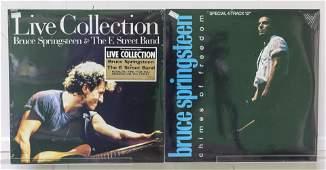 2 Sealed Bruce Springsteen Vinyl Records