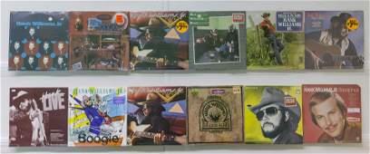 12 Hank Williams Jr. Vinyl Records