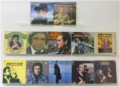 12 Johnny Cash Vinyl Records