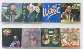 8 Willie Nelson Vinyl Records