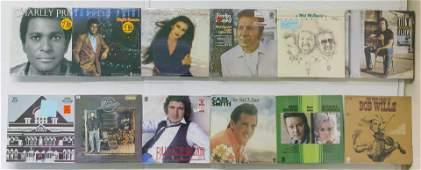 12 Assembled Vinyl Records
