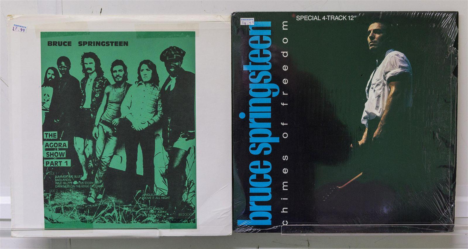 2 Bruce Springsteen Vinyl Records