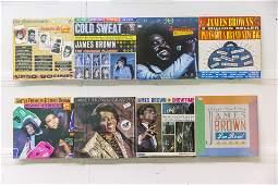 8 James Brown Vinyl Records