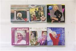 6 Dolly Parton Vinyl Records