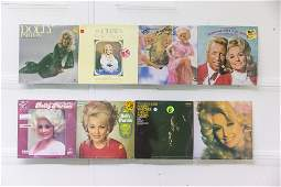 8 Dolly Parton Vinyl Records