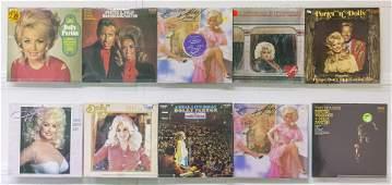 12 Dolly Parton Vinyl Records