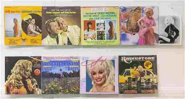 7 Vinyl and 1 EP Vinyl Dolly Parton Records
