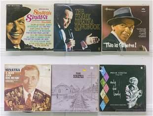 6 Frank Sinatra Vinyl Records