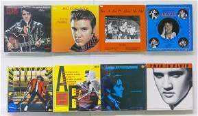 8 Elvis Presley Vinyl Records