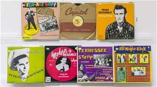 7 Assembled EP Vinyl Records
