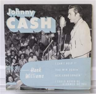 Johnny Cash 45 Vinyl Record