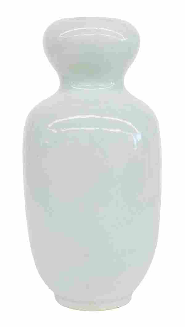 Chinese Celedon Bulbous Vase