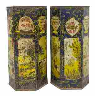 19th Century Chinese Tea Cannisters
