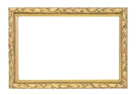 Fine Gold Leaf Wood Frame