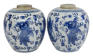 Chinese Canton Jars