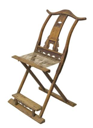 18th Century Chinese Commanders Chair