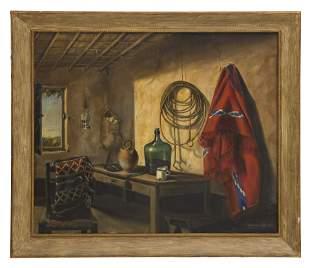 Andres Gomez Bustillo (20th Century) Oil (Spain)